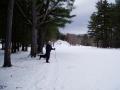 golf course snow shoe